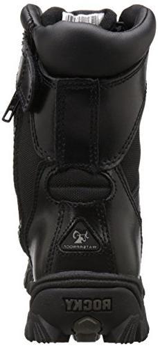 """ROCKY 8""""AlphaForce Black Shoes 8"""