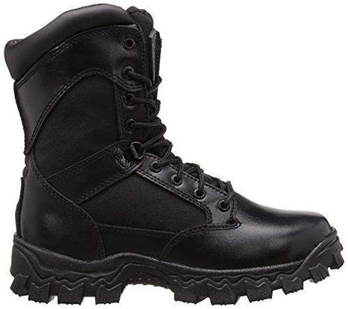 ROCKY 2173 Black Boots Shoes SZ 8 Wide