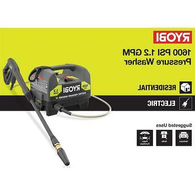 RYOBI 1,600 PSI GPM Chemical/Detergent Injection