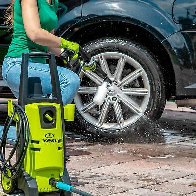 Sun Joe Electric Pressure Washer | Max | Included Tips