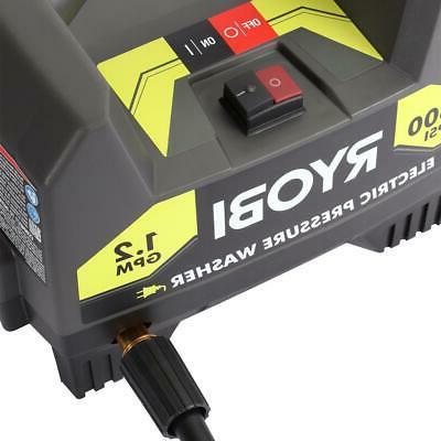 RYOBI Electric 1,600 PSI GPM Chemical/Detergent