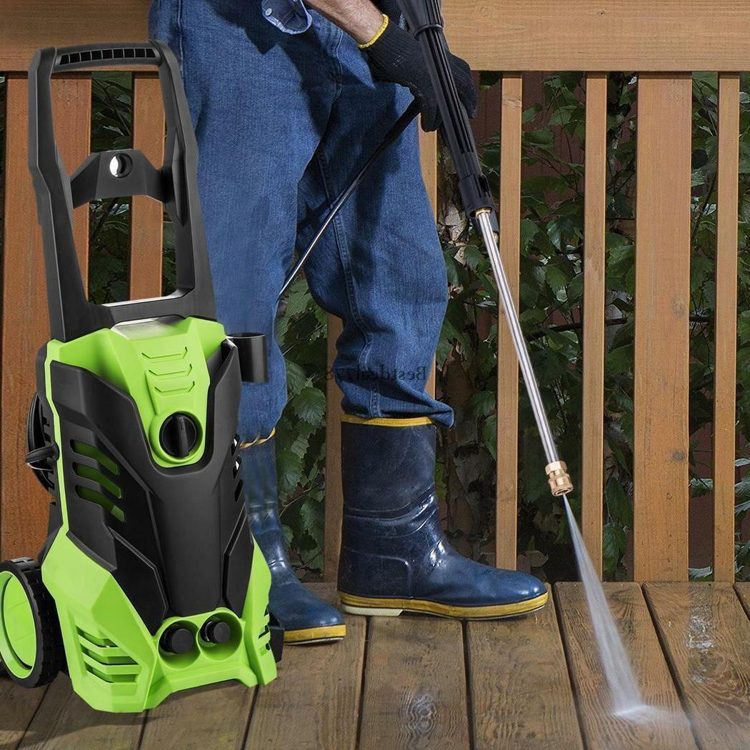 Electric Pressure Washer Power Jet Wash Garden Patio Home Ca