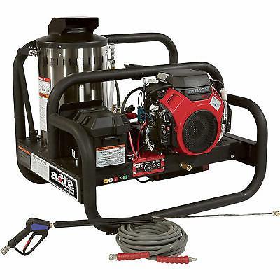 gas powered hot water pressure washer honda