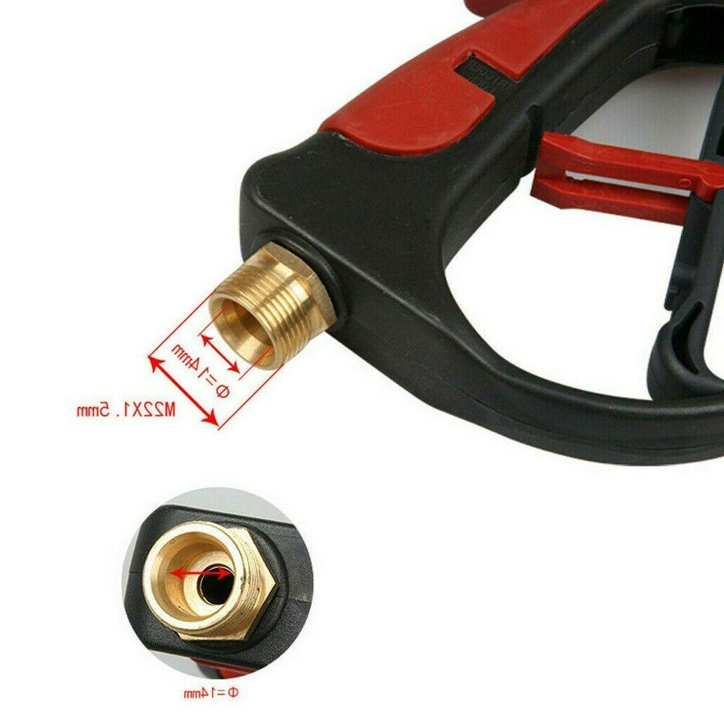 High Car Power Washer Wand/Lance Nozzle Tips Hose Kit