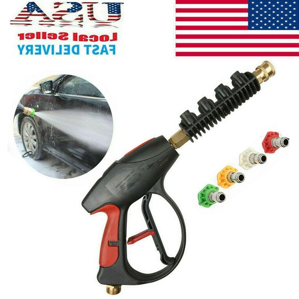 High Pressure 4000PSI Power Washer Gun Wand/Lance Kit