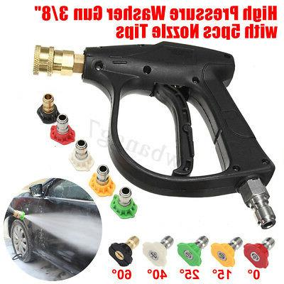 High Pressure Washer Adapter +5PCS 3/8''
