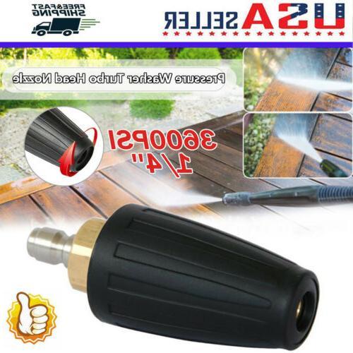 high pressure washer rotating turbo nozzle 3600psi
