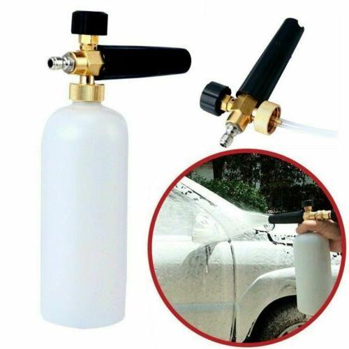 large snow foam lance cannon soap bottle