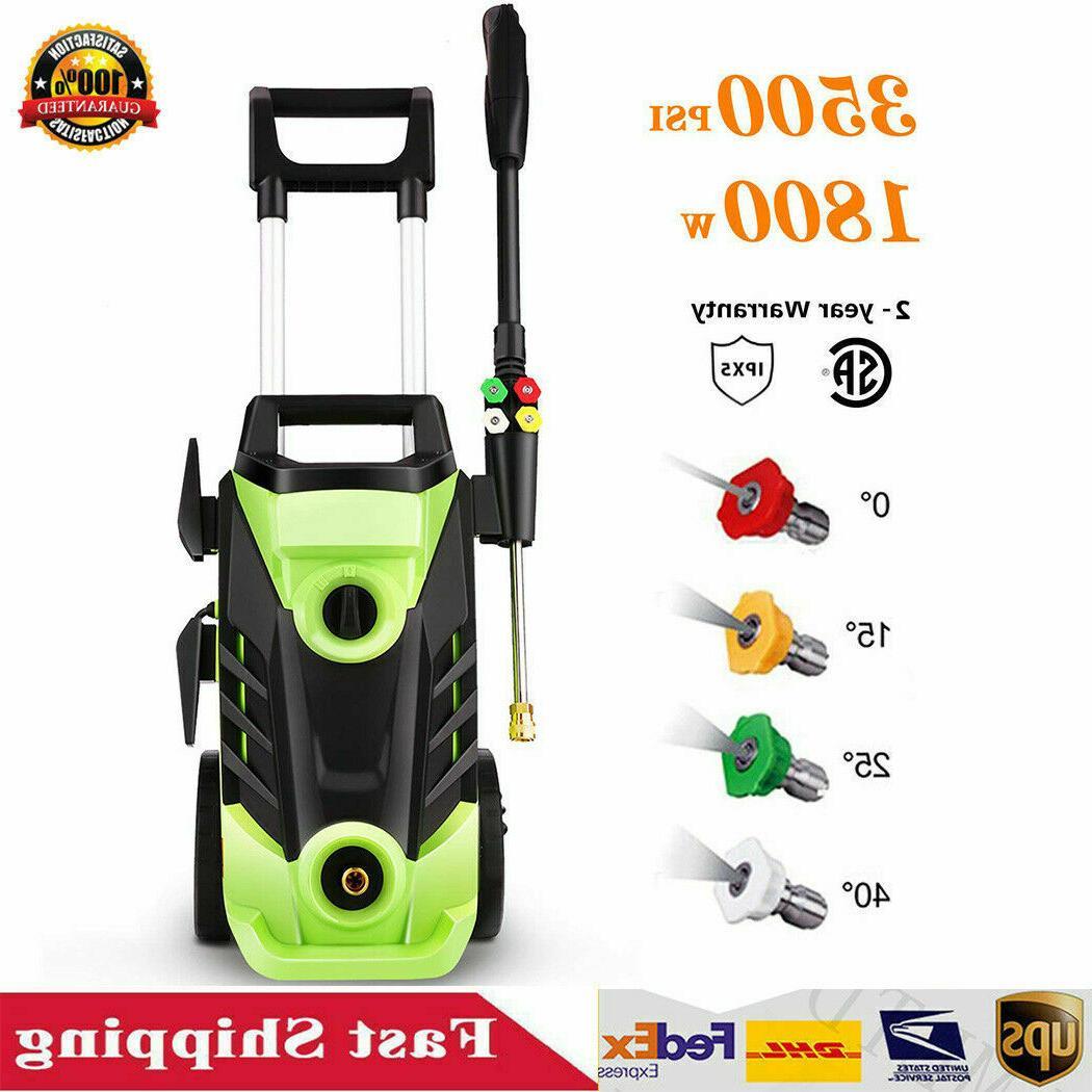 HOMDOX Max 3500PSI Electric High Pressure Washer Spray Gun C