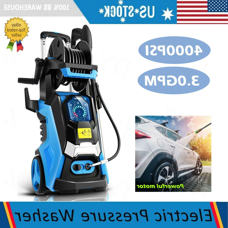 max 4000psi 3 0gpm electric pressure washer