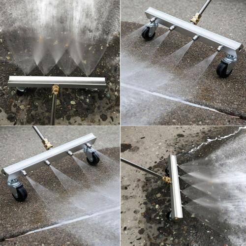 Pressure Broom Cleaner For Driveway Sidewalk