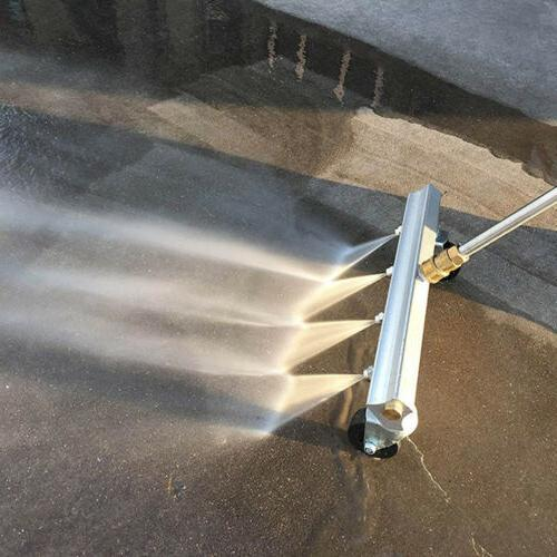 pressure power washer water broom cleaner 4