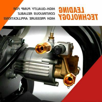 ETOSHA 6.5HP Gas with Spray Gun Nozzles