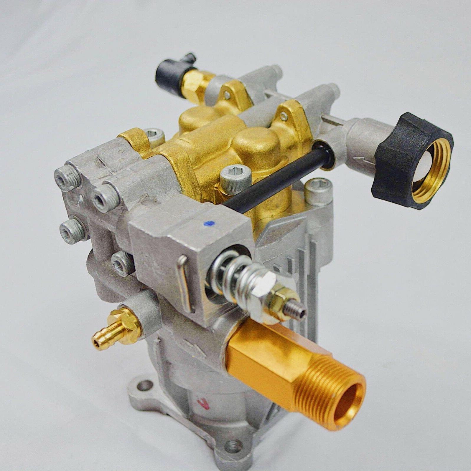"Pressure Washer Pump 3/4"" - PSI 2.5 GPM Horizontal NEW"
