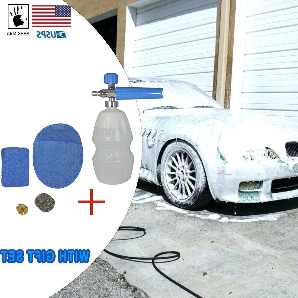 Snow Foam Soap Bottle Pressure Car