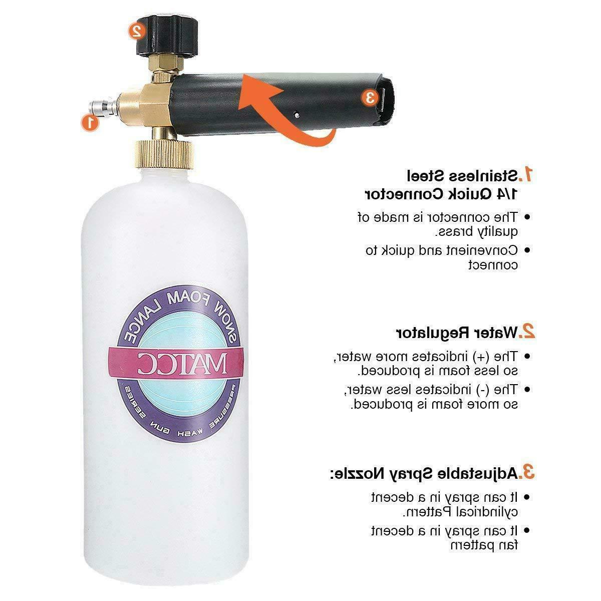 Soap Sprayer For Car Wash