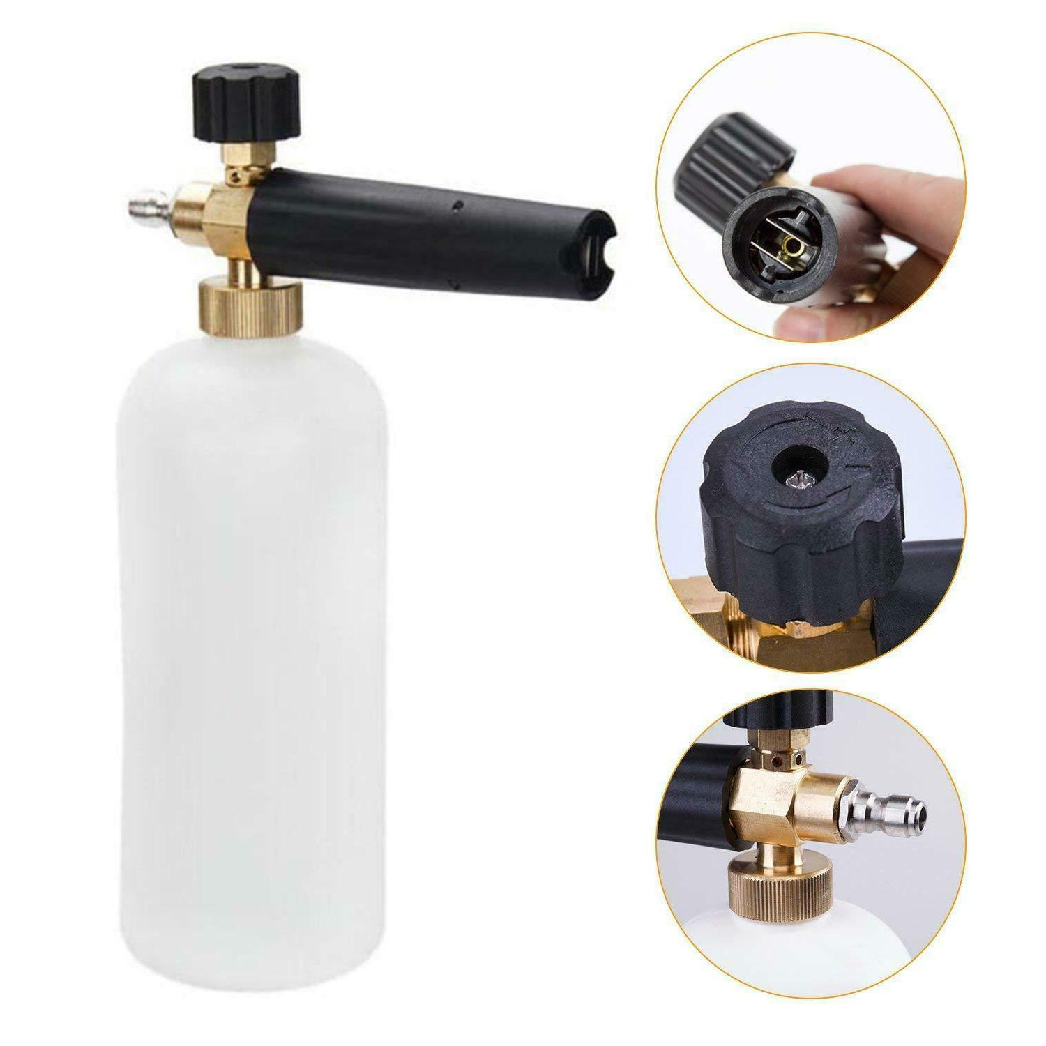 Snow Cannon Soap Bottle Sprayer For Pressure Washer Car Wash