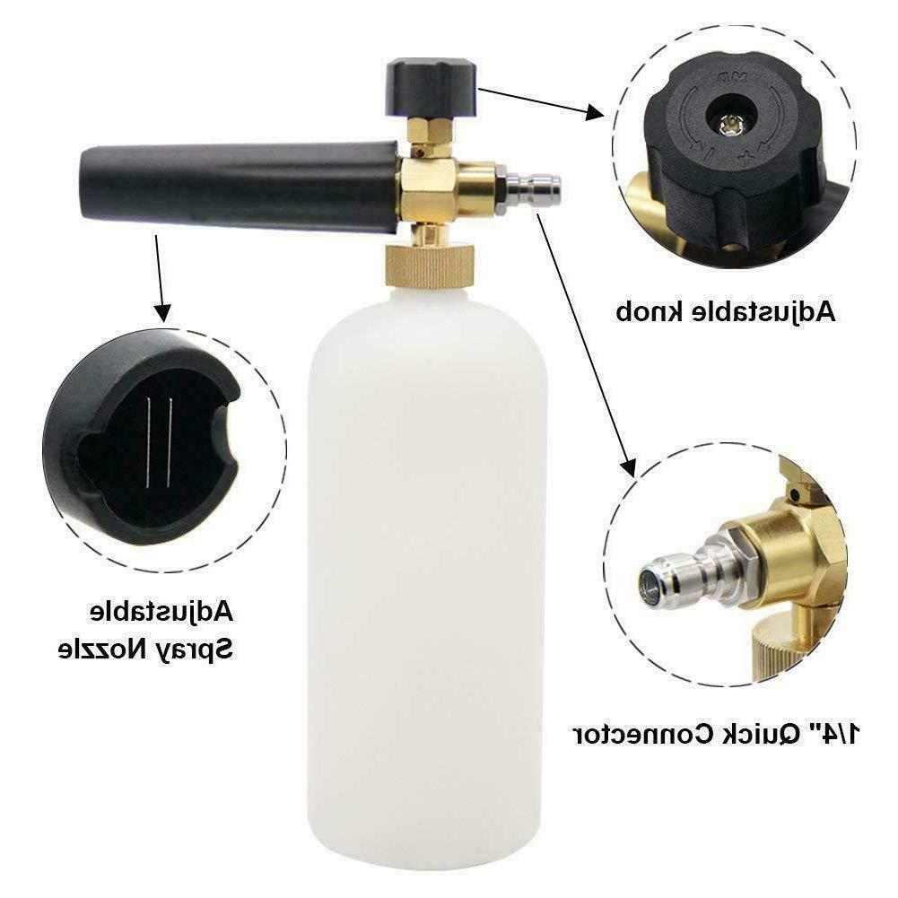 Snow Foam Lance Soap Bottle Sprayer Pressure Car Wash