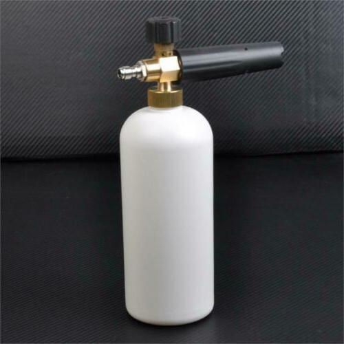 Car Wash Snow Foam Lance Cannon Soap Sprayer Pressure Washer Gun