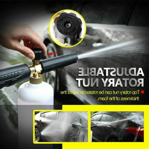 Snow Washer Car Wash Cannon Spray Pressure Bottle