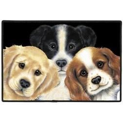 Peeping Puppies Doormat - Patio, Lawn & Garden