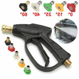 Pressure Washer Gun Power Surface Cleaner Nozzle Water Quick