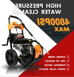 ETOSHA Pressure Washer 4800PSI 6.5HP Gas with Power Spray Gu