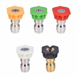 pressure washer nozzle tip set