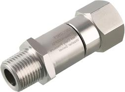 Pressure Washer Swivel 3/8 Inches Npt-M Male Thread 4000 Psi
