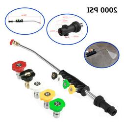 Pressure Washer Wand Extension+Adapter Nozzle Replacement La