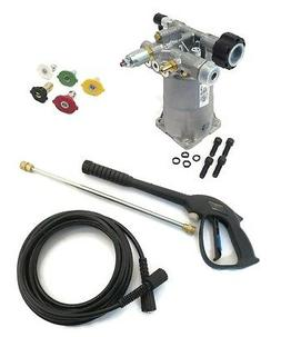 2600 PSI PRESSURE WASHER WATER PUMP & SPRAY KIT  2.5 GPM  fo