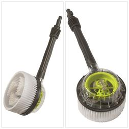 Rotary Wash Brush Kit Scrubber Attachment