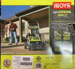 Ryobi Pressure Washer Electric 2000 psi Cold Water Cleaner P
