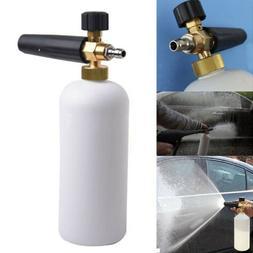 Car Wash Snow Foam Lance Cannon Soap Bottle Sprayer For Pres