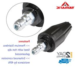 """YAMATIC 1/4"""" 360° Spin Spray 3.0 GPM 2200 PSI Power Pressur"""