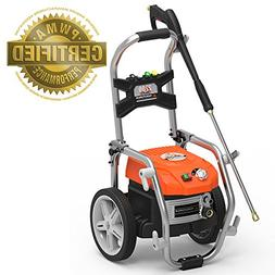 Yard Force PSI Brushless Electric Pressure Washer with Adjus